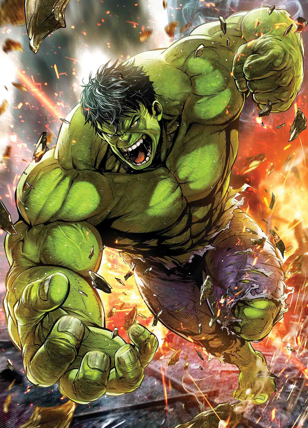 This is a photo of Stupendous Picture of the Hulk