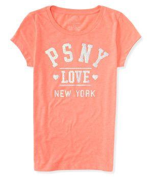 Kids' PSNY Love New York Graphic T -