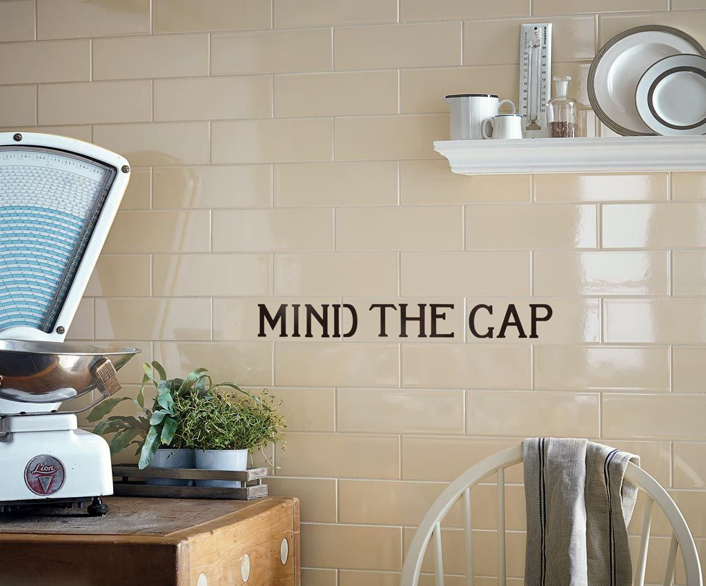 Fired Earth's Underground 150 Collection Mind The Gap Panel £75 Fair Design Your Kitchen App Design Ideas