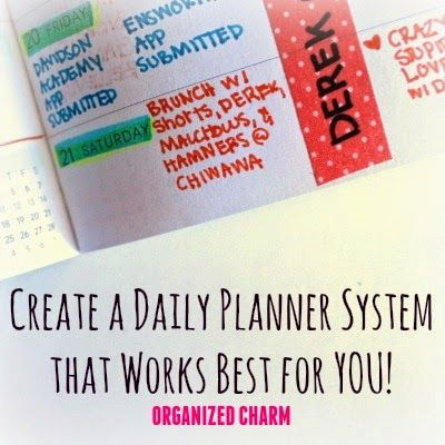 Day-to-Day Planner Organization A look inside my planner plus, how - college planner organization