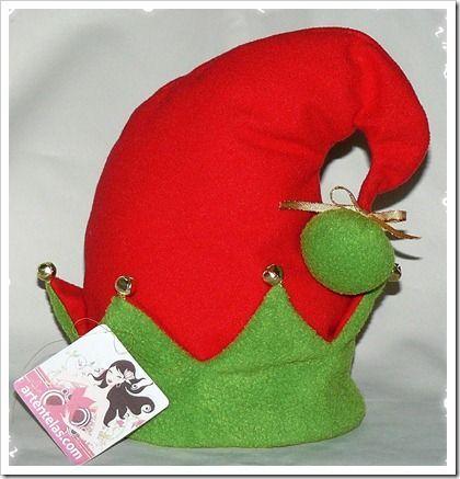 Disfraz de elfo para ni a duende - Detalles navidenos caseros ...