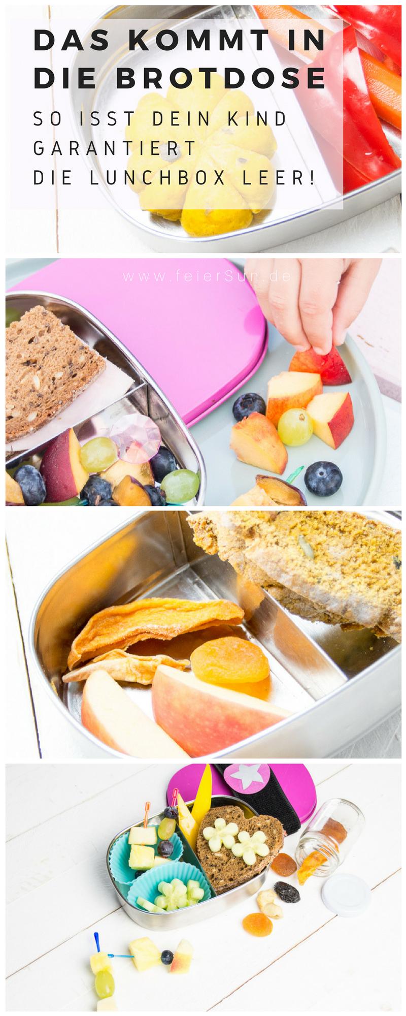 Pausenbrot: was kommt in die Schul-Brotbox