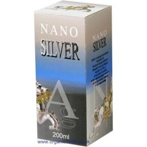 Colloidal Nano Silver Strong Antibacterial Activities 200