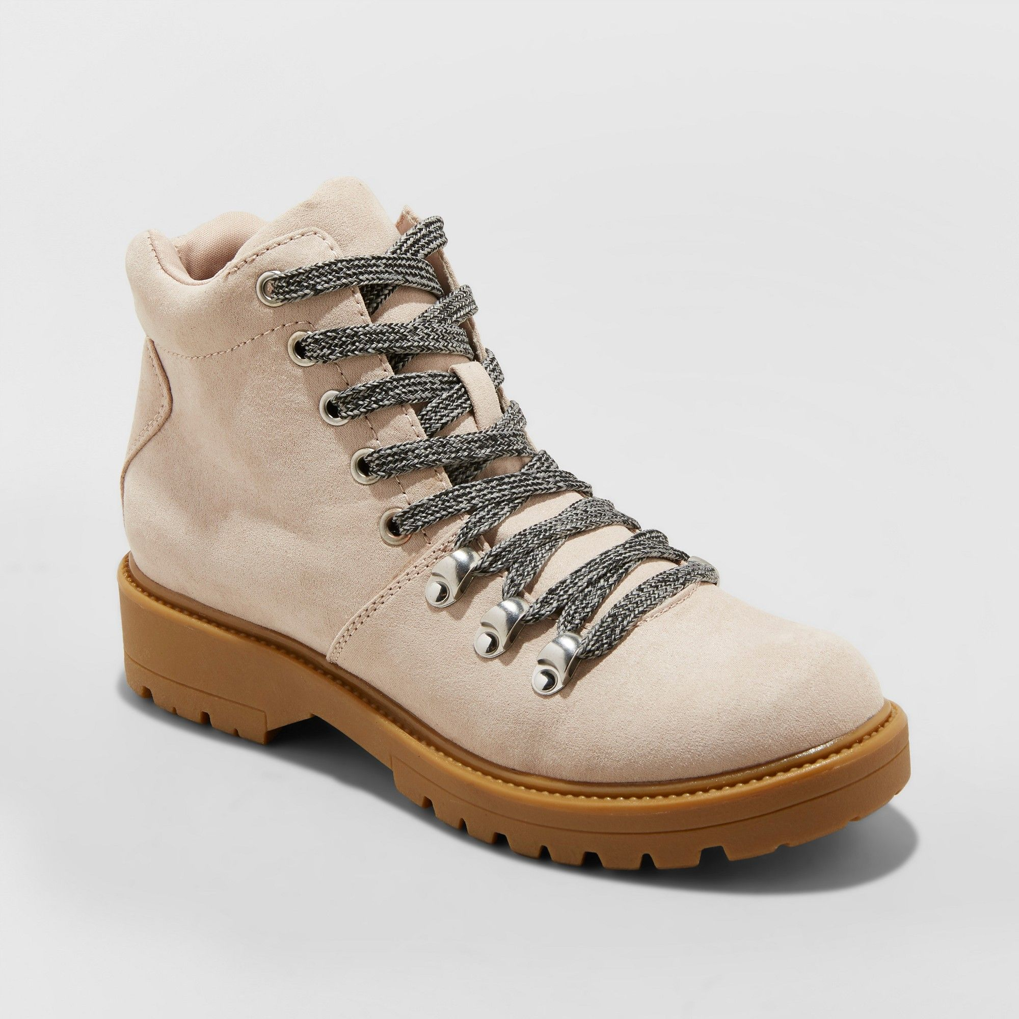 3137a48e35f Women's Karri Lace Up Hiker Boots - Universal Thread Blush 5 in 2019 ...