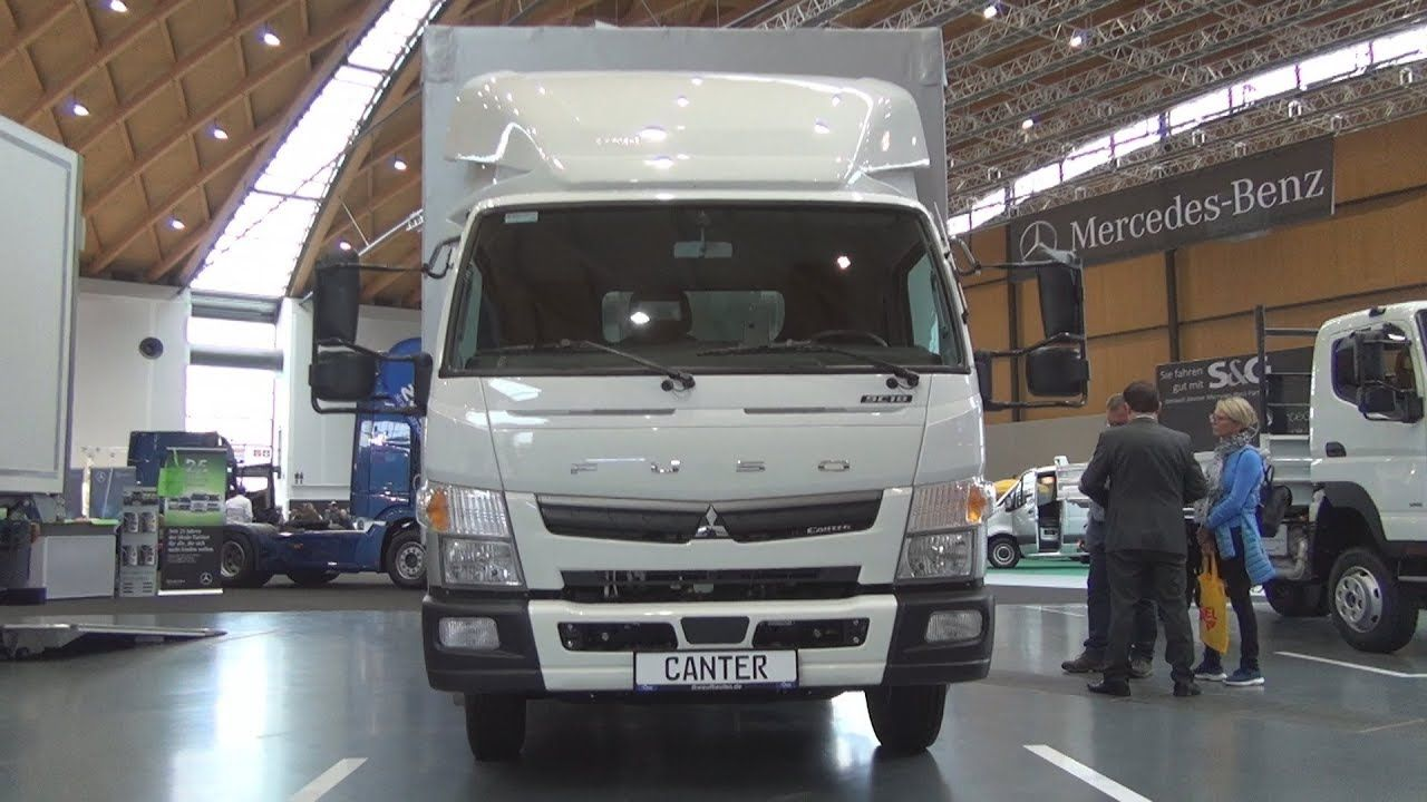 Fuso Canter 9c18 Lorry Truck 2020 Exterior And Interior Lorry Canter Trucks
