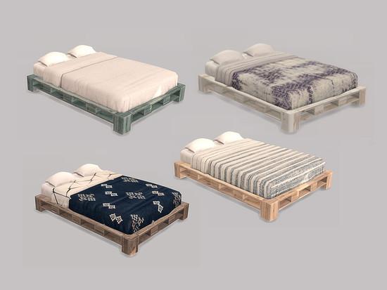 ung999 s Bedroom Mira Bed Double