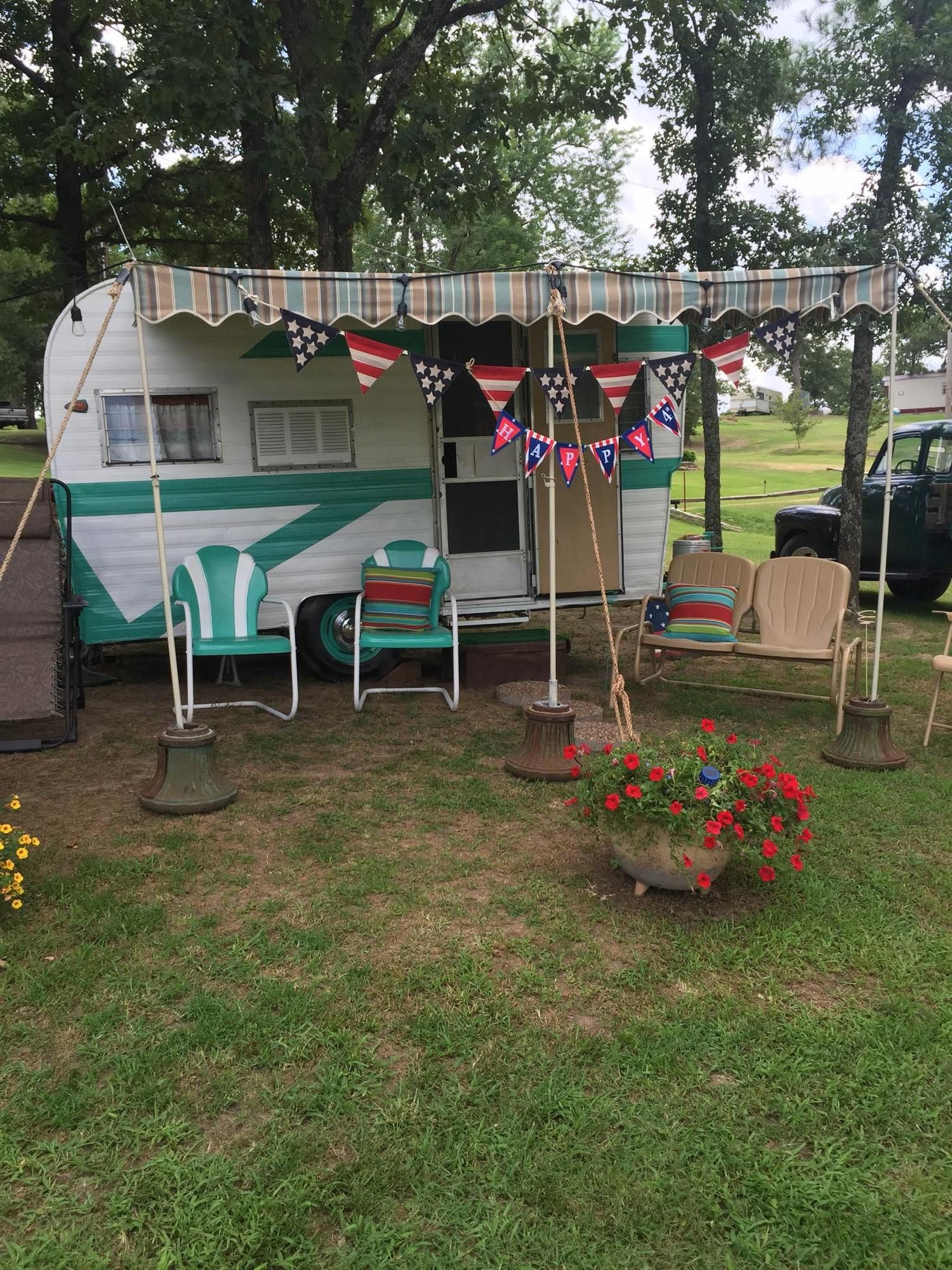 Kiawah Spa Awning Dfoster Bellsouth Net Vintage Trailer Awnings By