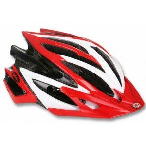 Bell Volt Helmet Red White Closeout Helmet Mongoose Mountain Bike Bicycle Helmets