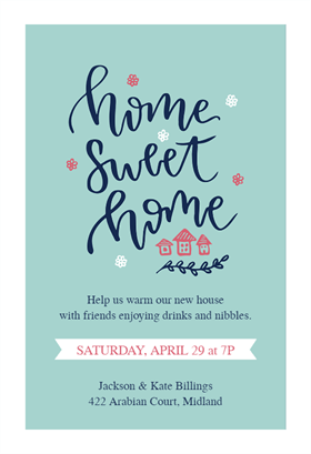 photograph about Printable Housewarming Invitations named Warming Welcome - Housewarming Invitation Template (Absolutely free