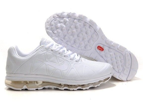 Nike Air Max 2011 Leather Mens White Red | Nike air max 2011