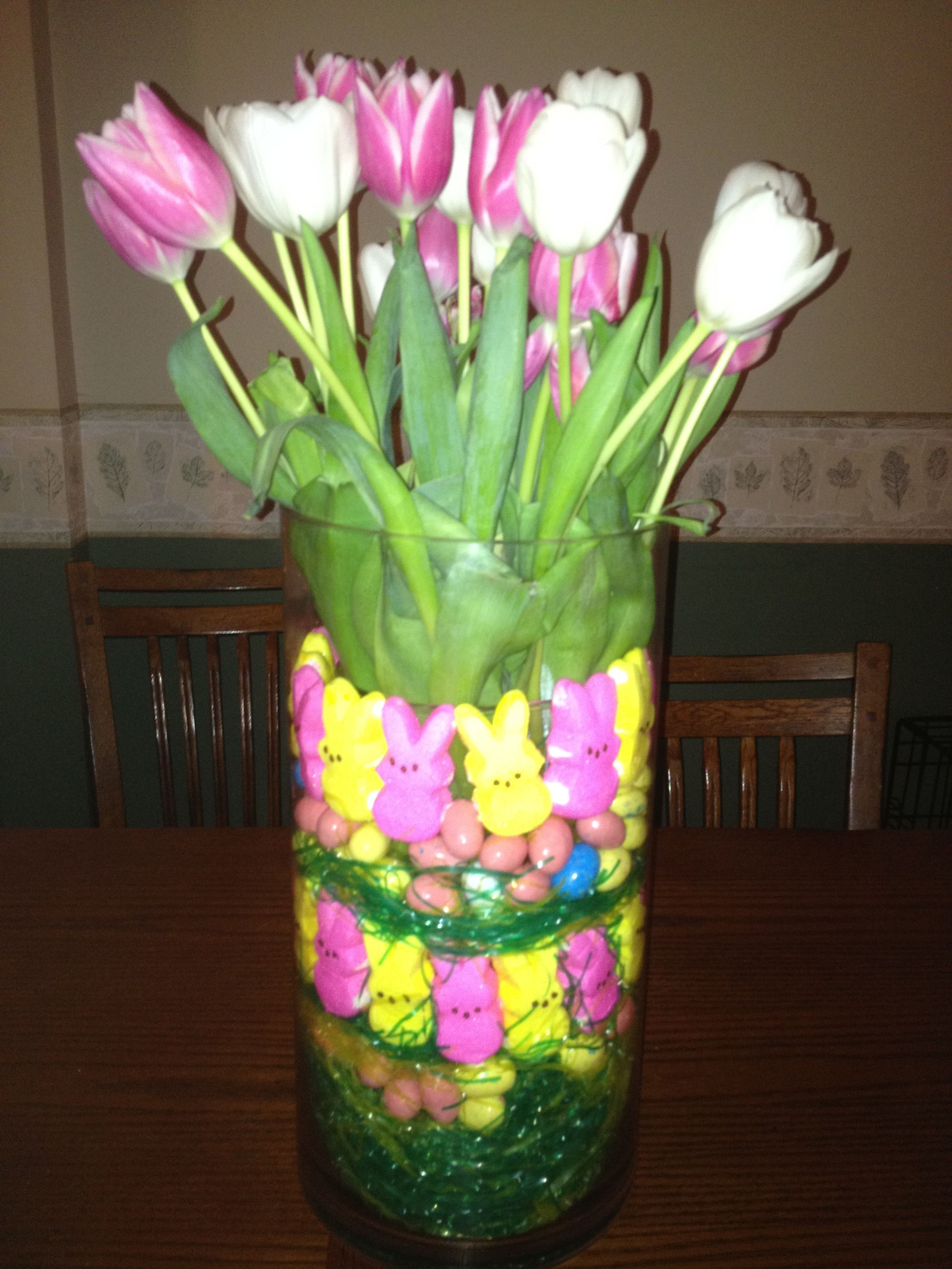 My Easter Table Decor Easter Deco Ideas Pinterest