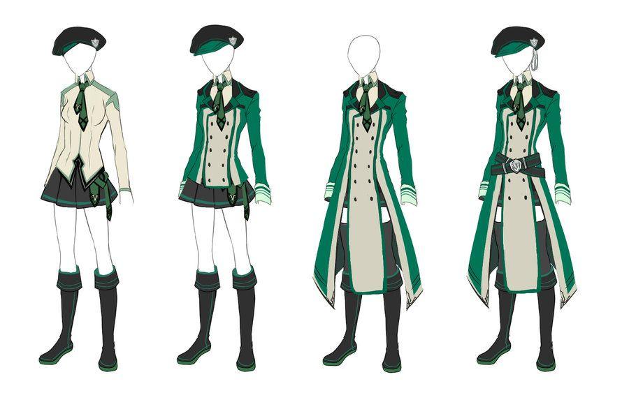 Virens Uniform Female By Lutherum Deviantart Com On Deviantart