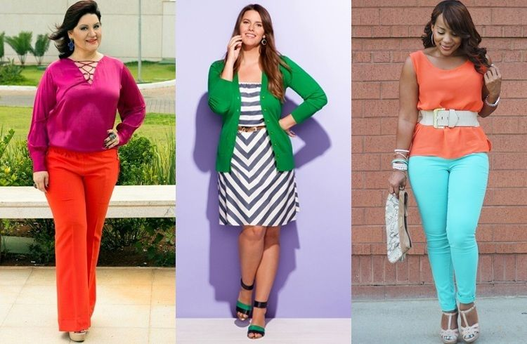 color blocking tips for plus size