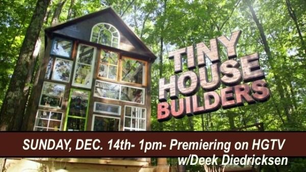 Tiny House Builders TV Show On HGTV W Derek Diedricksen Photo