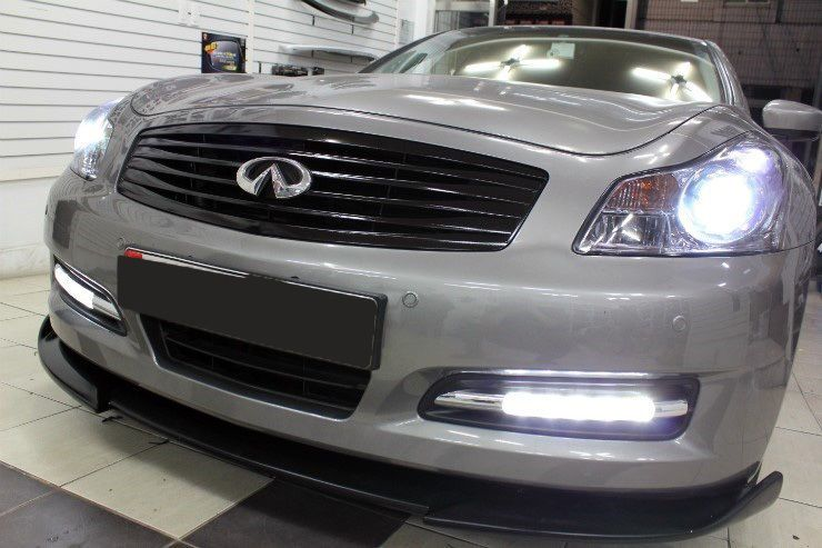 2007 2009 Infiniti G35 G37 Sedan Drl Daytime Running Lights Kit W Cover 2008 G37 Sedan Infiniti G37 Infiniti