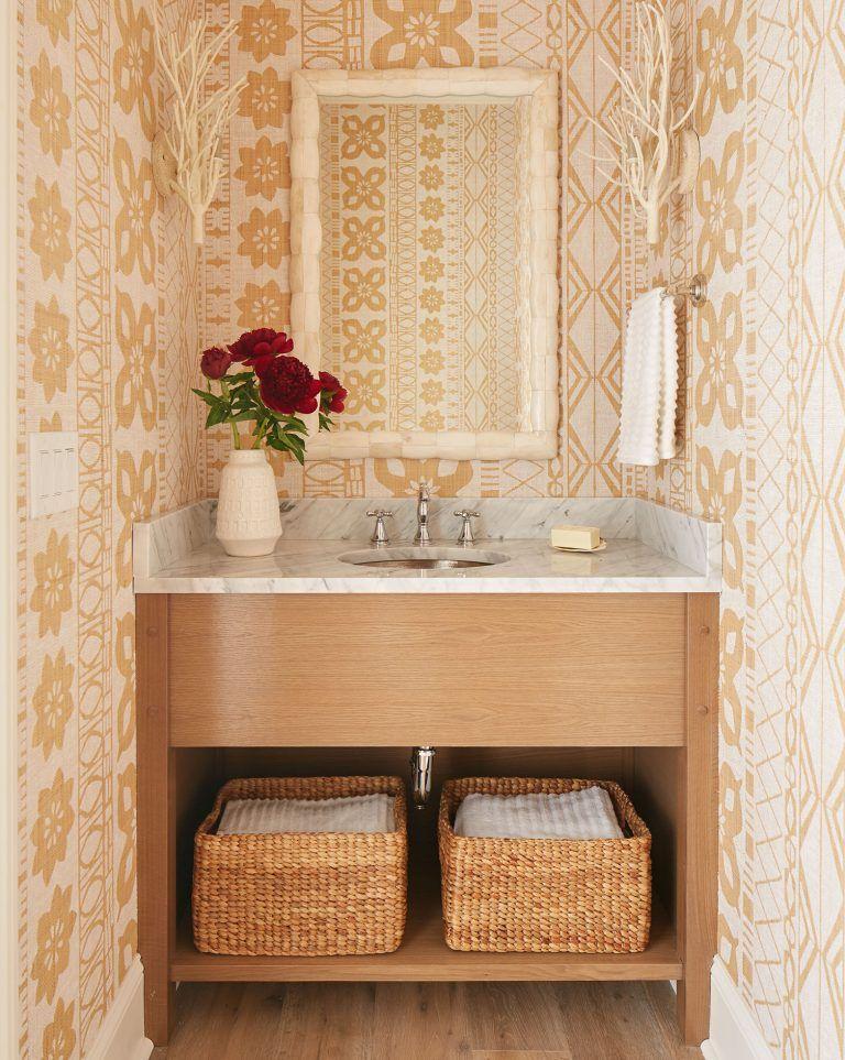 Powder Room By Amy Kartheiser Design: Decorating Goals: Andrew Howard Interior Design