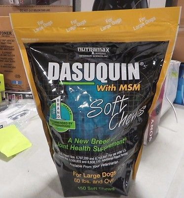 Dasuquin With MSM for Large Dogs 150 Soft Chews by Nutramax https://t.co/0dlhRqHliZ https://t.co/lMeNj8A4Fk