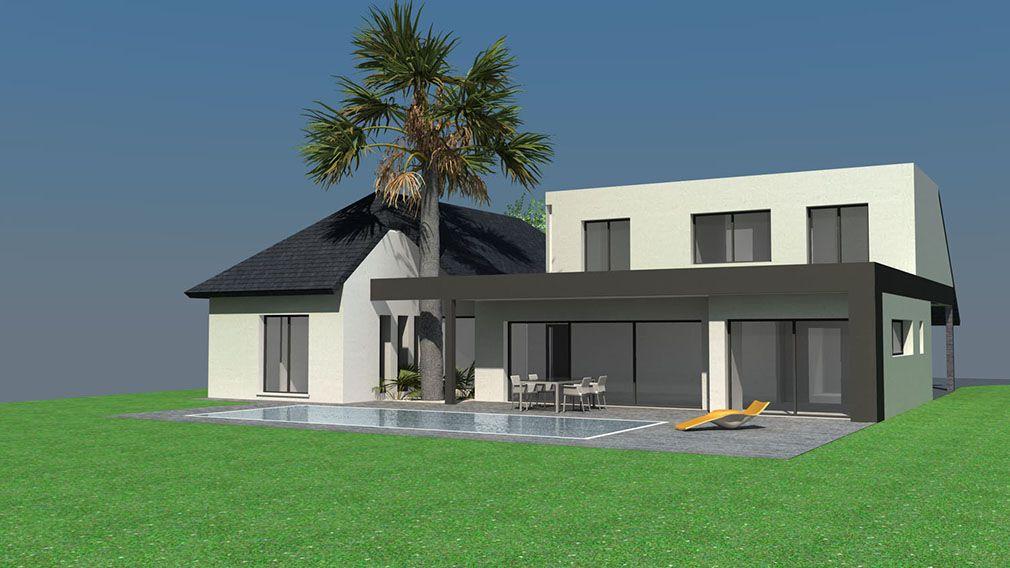 Plan Maison Architecte Maison Contemporaine A Etage Avec