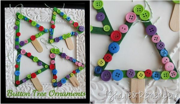 Wonderful, easy kid craft. I think this will be fun this December. From Share and Remember