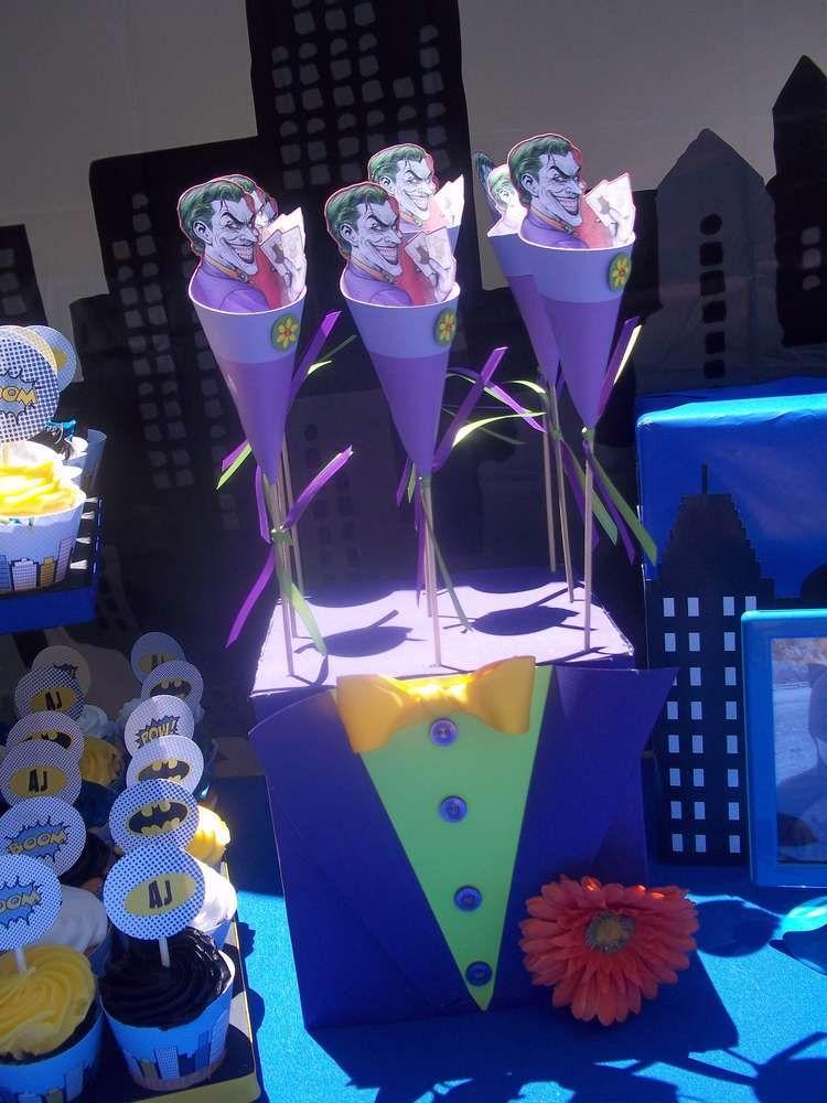 Batman Joker Birthday Party Ideas Batman Party Lego