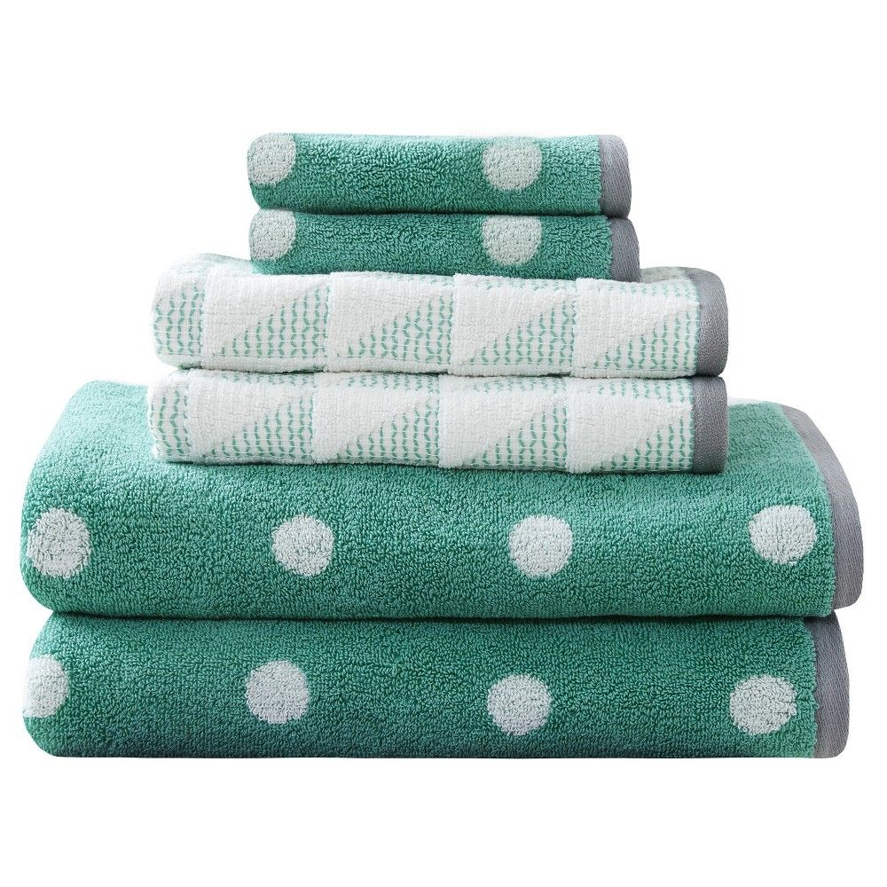 Bath Towel Set - Aqua (Blue)