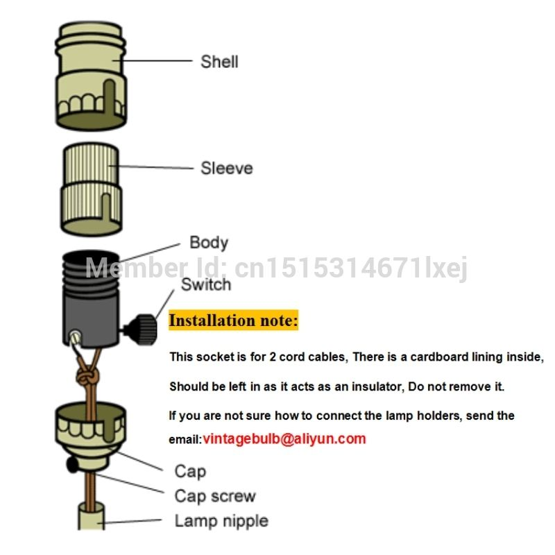 Aliexpress Com Buy Free Shipping E26 E27 Edison Keyless Vintage Brass Lamp Light Base Socket Lamp Holder With Ring From Rel Lamp Holder Brass Lamp Lamp Light