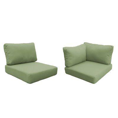 Tk Classics Capecod Indoor Outdoor Cushion Cover Fabric Cilantro