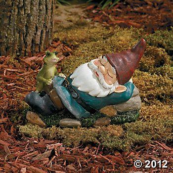 Resting Garden Gnome