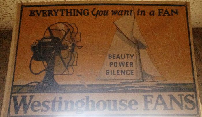 Westinghouse Fan advert