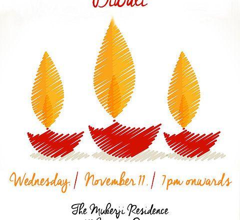Invitation To Celebrate Diwali Vector Free Diwali Celebration Diwali Vector