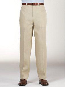 Calvin Klein Tan Linen Suit Separates Slacks Men S Pants With Images Mens Outfits