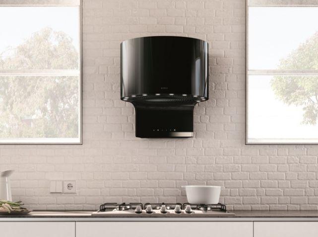 Hotte design noire elica l\u0027original Electroménager Pinterest - hotte de cuisine  cm