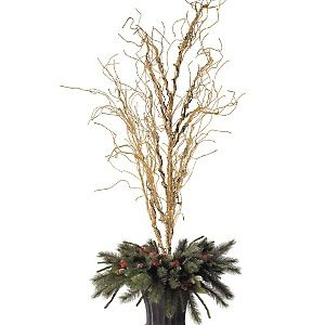 Grandin Road 6 Pre Lit Branches With Filler At Hsn Com Christmas Branches Types Of Christmas Trees Decorating With Christmas Lights