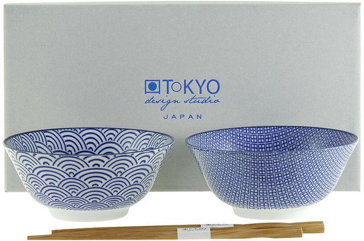 Tokyo Design Studio - Nippon Blue Bowl Gift Set With
