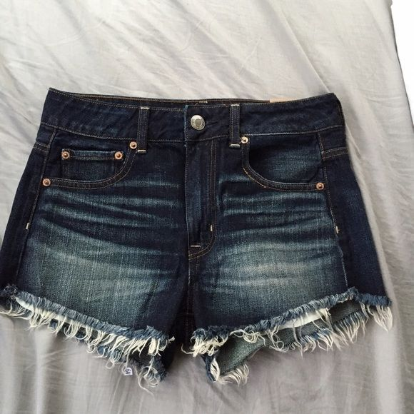 NWT AE High Rise Festival Shorts Size 4, still have tags!! American Eagle Outfitters Shorts Jean Shorts