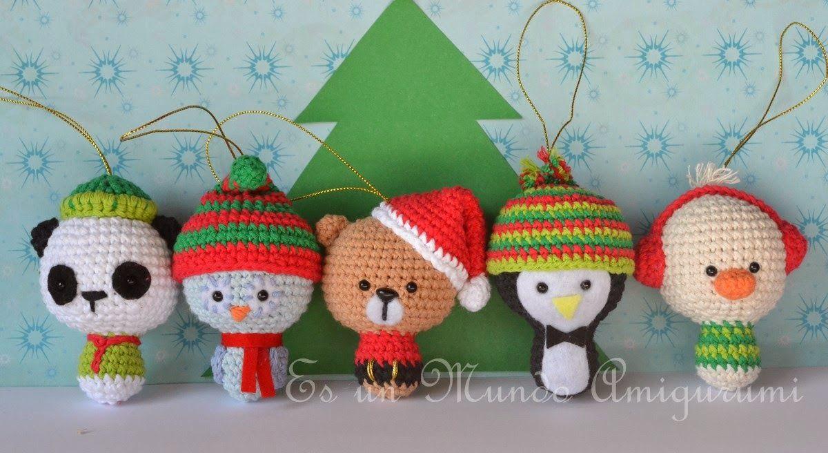 Amigurumis Navidad Crochet : �los amigurumis m�s navide�os una terapia antiestr�s para
