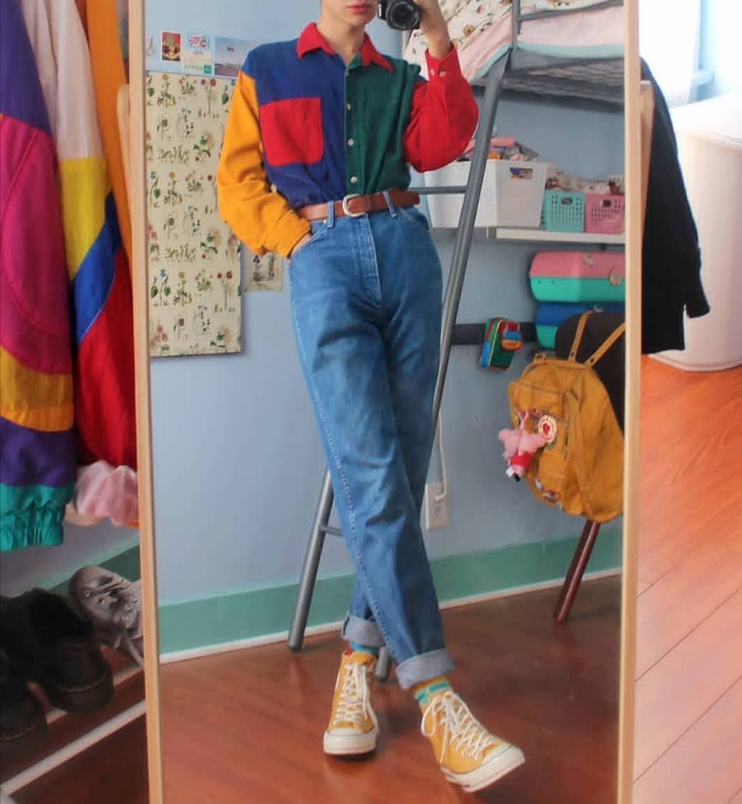 Aesthetic Grunge Vintage On Instagram Score This Outfit 0 To 10 Grunge Grungegirl Aesthe Retro Outfits Fashion Inspo Outfits Fashion