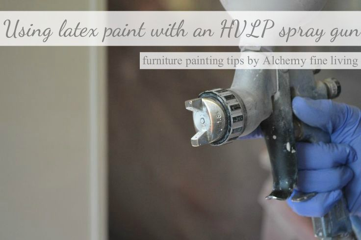 Using Latex Paint With An Hvlp Gravity Feed Spray Gun How To Paint