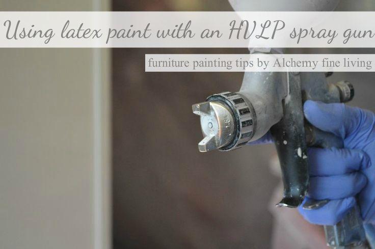 Can Hvlp Spray Latex