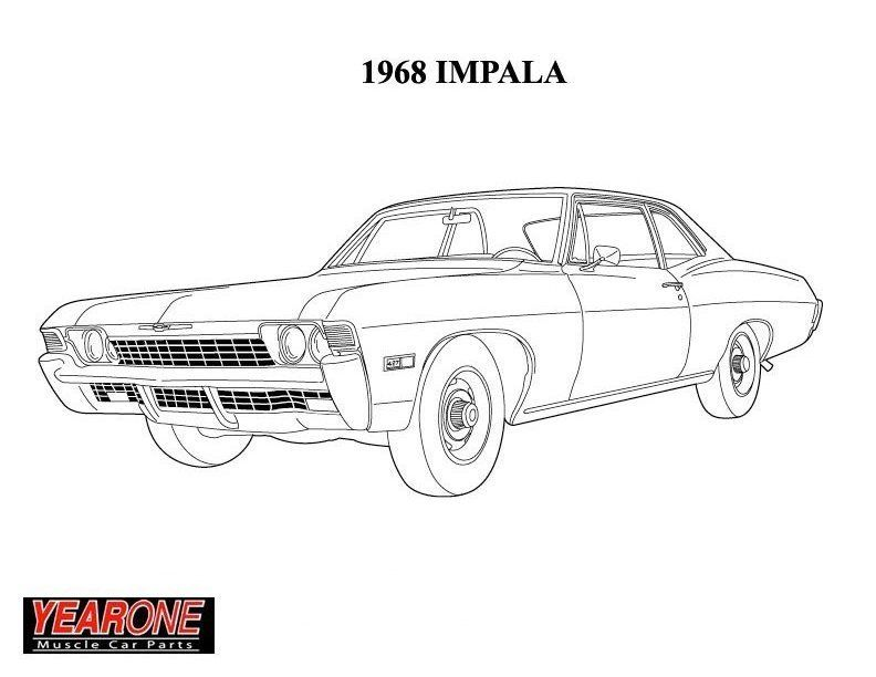 1968 impala just like ours