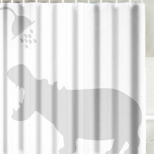 Water Polo Shower Curtain Fabric Shower Curtains Curtains
