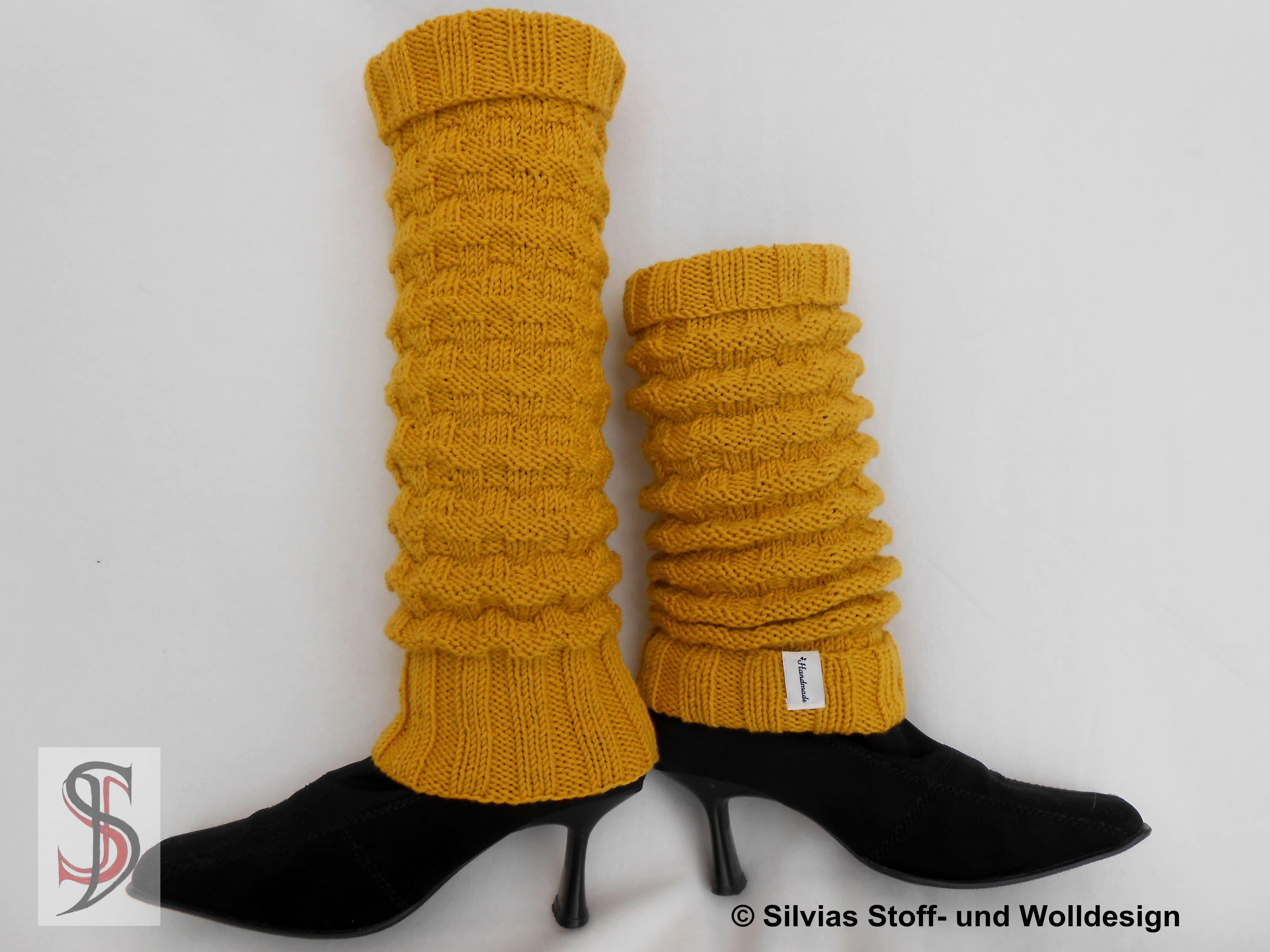 beinstulpen aus cool wool big von lana grossa stricken. Black Bedroom Furniture Sets. Home Design Ideas
