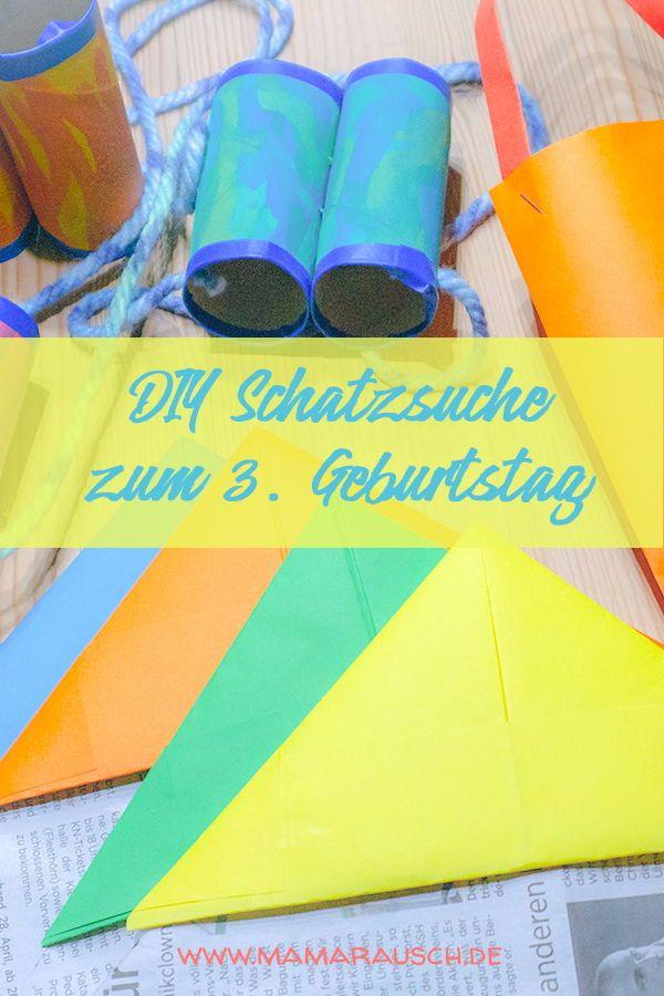 Photo of DIY Schatzsuche für kleine Entdecker zum 3. Geburtstag ♥