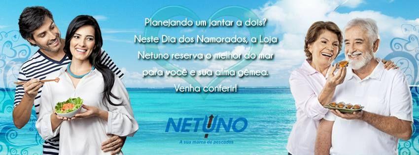 Cover temática para Facebook - cliente: Loja Netuno