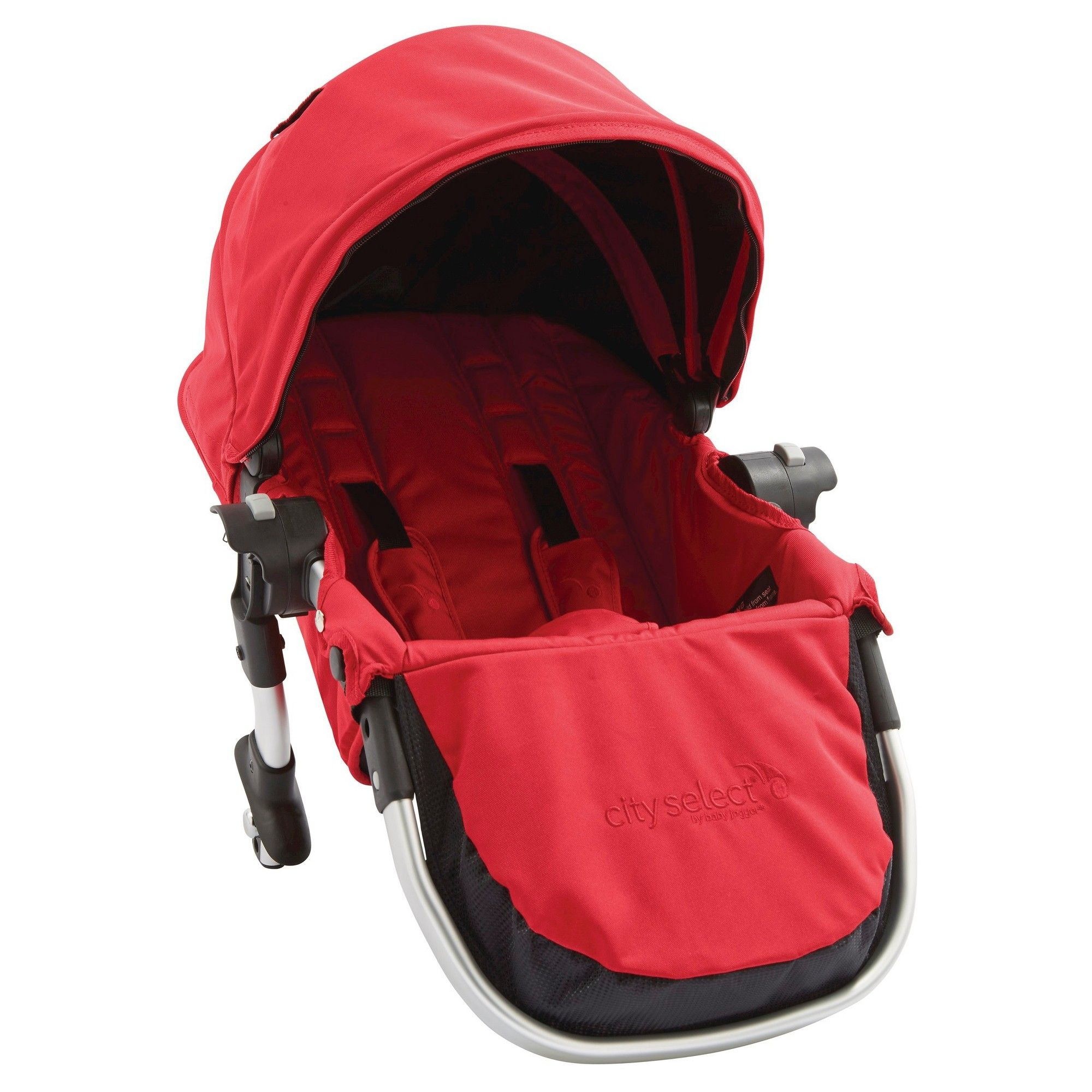 Baby Jogger City Select Second Seat Kit Ruby, Red Baby