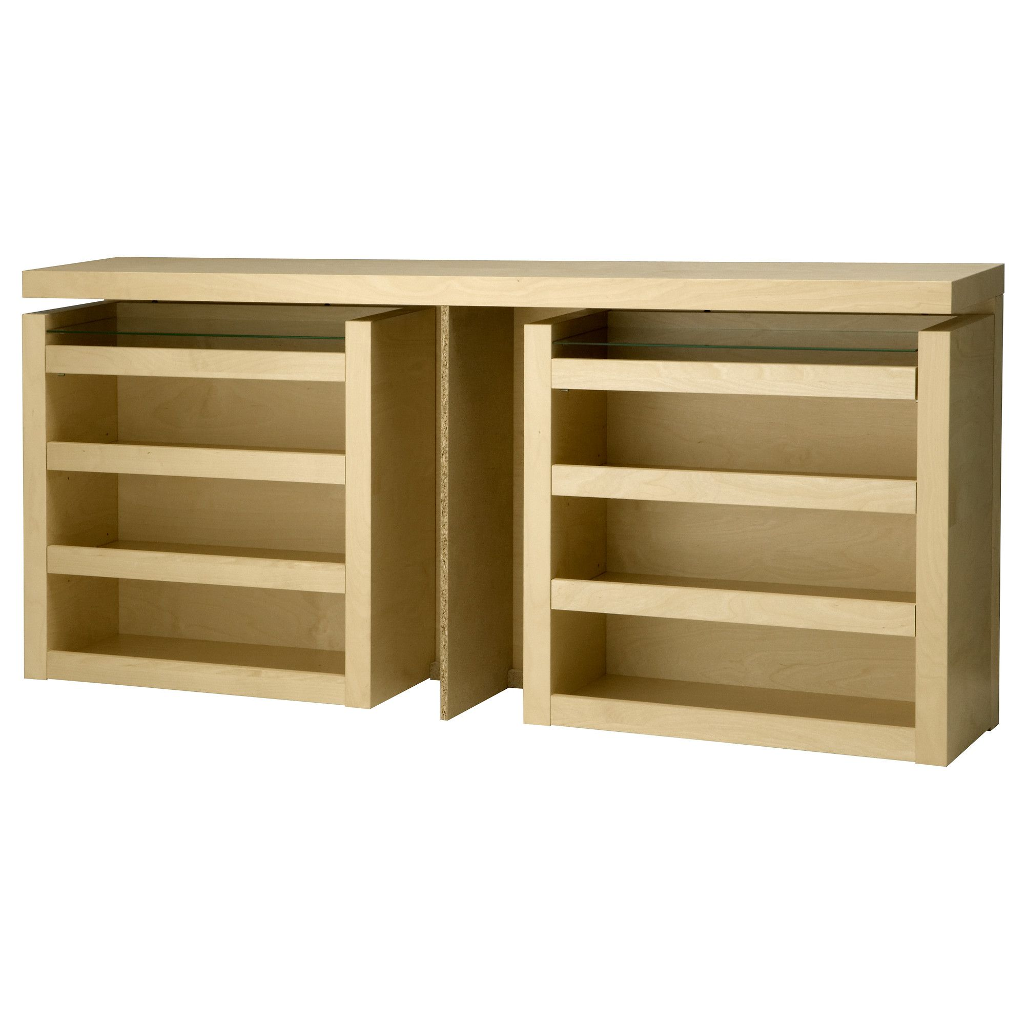 Details About White 3 Piece Storage Drawers Twin Bed Box: MALM 3-piece Headboard/bed Shelf Set