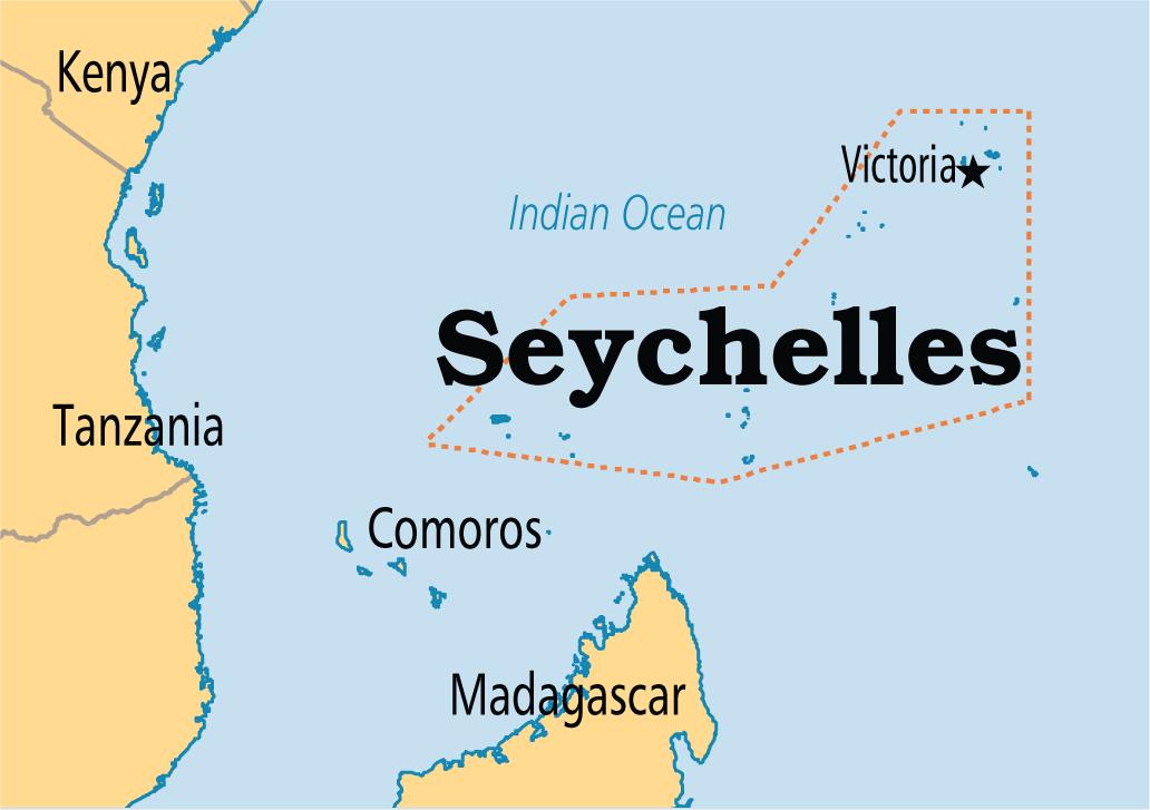 seychelles on africa map Seychelles Victoria 42 Seychelles Pesquisa