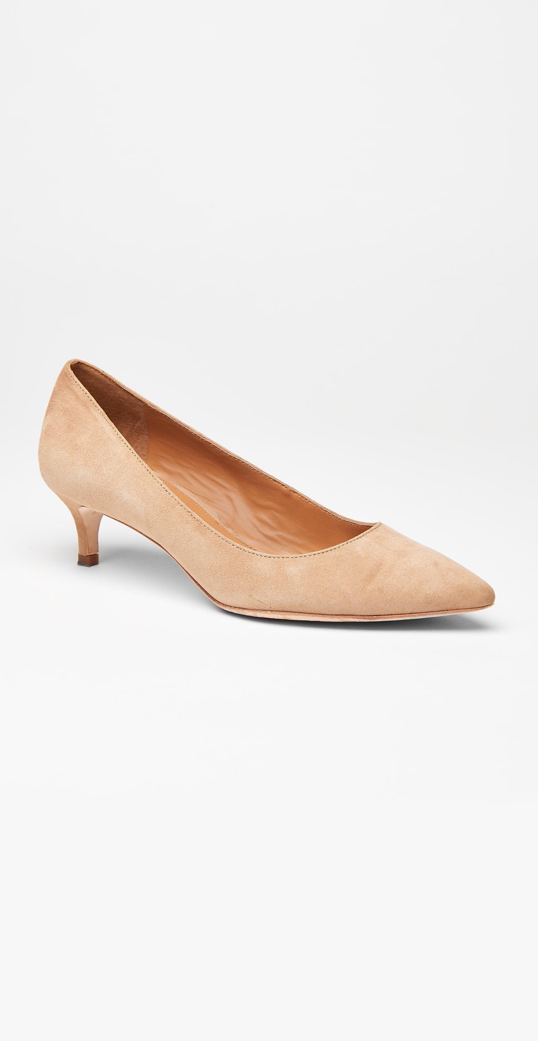 J Mclaughlin Kat Suede Kitten Heel Kitten Heels Heels Shoes Heels