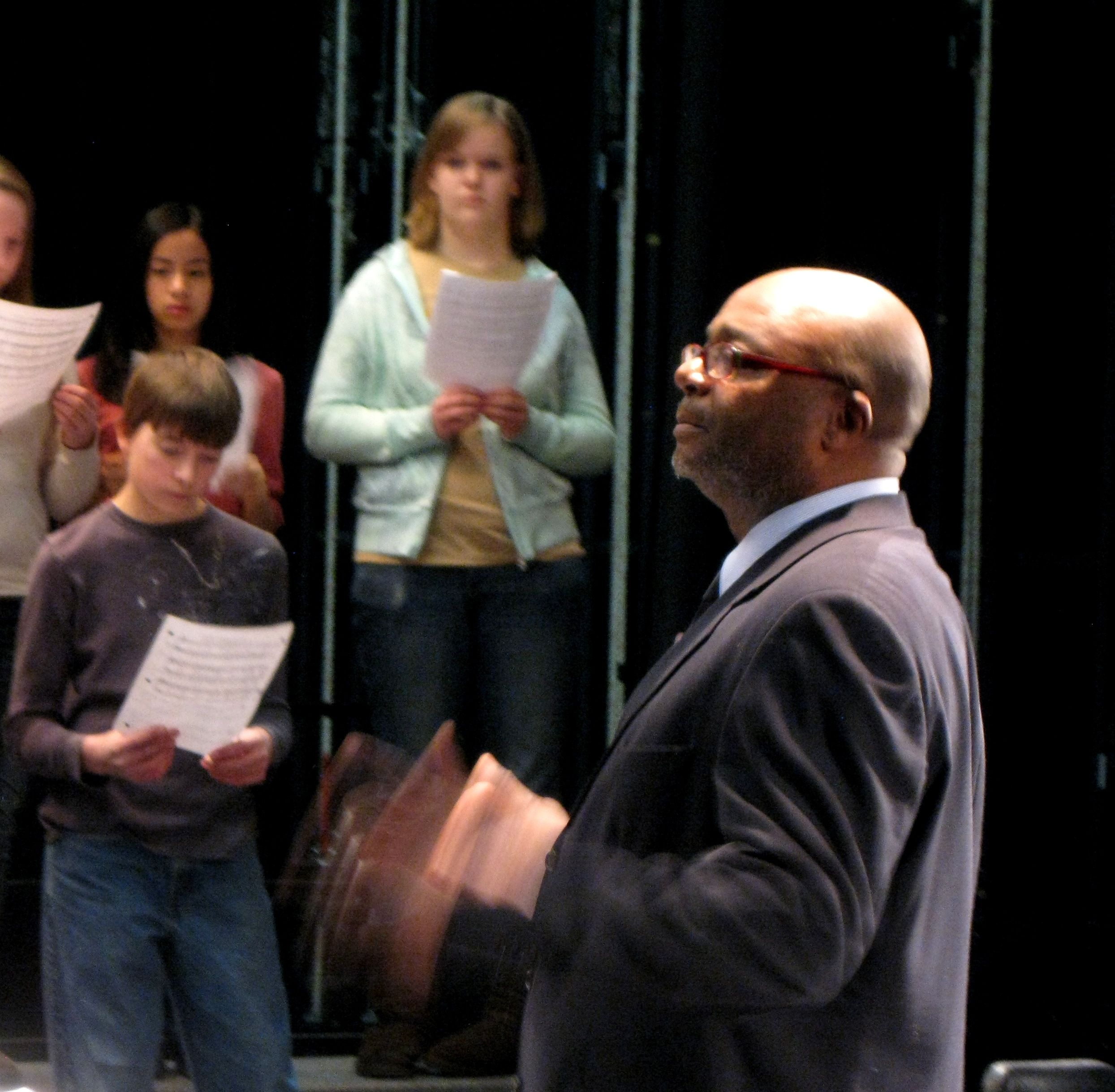 Leading A Middle School Chorus As Part Of An Evolution Of