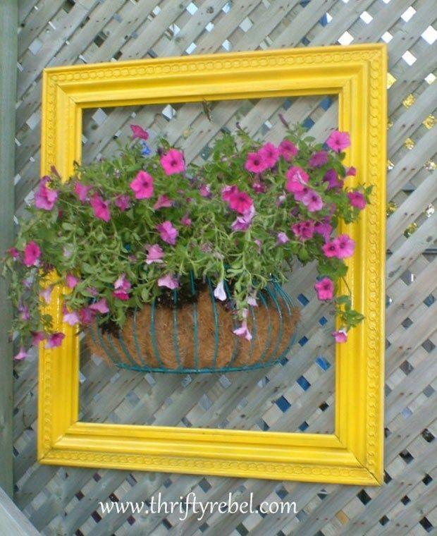 Photo of Fantastiske ideer for å fange DIY innrammede blomsterhager